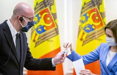 Евросоюз поддержал Санду и роспуск парламента Молдовы