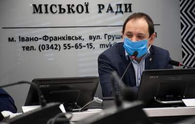 Мер ковідного Івано-Франківська Марцінків попросив допомоги у влади