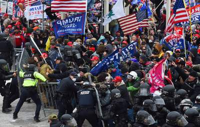 """Не було одиничною подією: ФБР назвало штурм Капітолія """"внутрішнім тероризмом"""""""