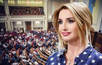 Марченко пішла в політику: недолугі висловлювання дружини Медведчука на марафоні