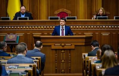 Разумков пояснив, чому не підтримав санкції проти Козака і каналів Медведчука