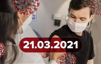 Новости о коронавирусе 21 марта: новый штамм из Франции, локдаун на Киевщине