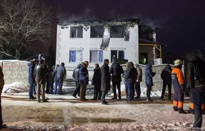 Залишили під вартою: суд щодо підозрюваних у пожежі у домі престарілих у Харкові