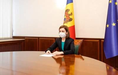 """Президентка Молдови Санду попросила Росію поділитися """"Супутником V"""""""