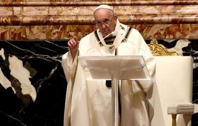 """Папа Римский в пасхальном послании """"особо"""" вспомнил Украину и пожелал ей мира"""