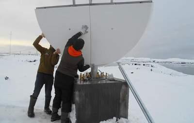 Антарктида становится ближе: в украинских полярников появился безлимитный интернет