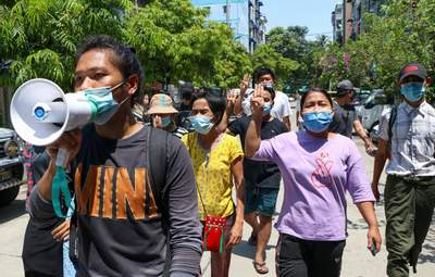 За день в одном городе Мьянмы убили более 80 человек