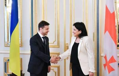 Настав час конкретних пропозицій для України та Грузії щодо ПДЧ в НАТО, – Зеленський