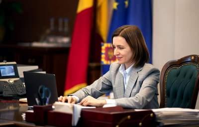 Конституционный суд Молдовы отменил урезание полномочий президента Санду