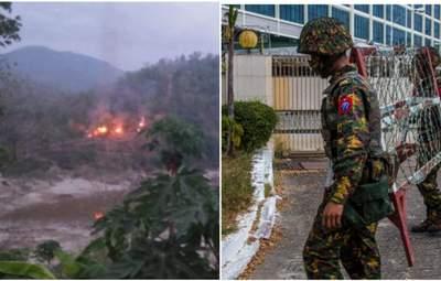У М'янмі, де 3 місяці триває військовий переворот, почалися бойові дії