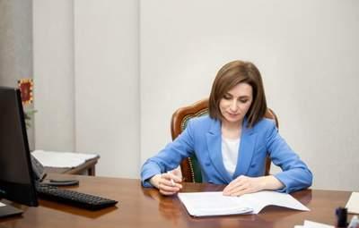 Майя Санду распустила парламент Молдовы и подписала указ о выборах