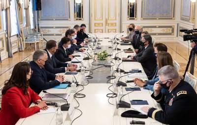 Війська на кордоні, реформи, запрошення Байдена: головні тези зустрічі Зеленського та Блінкена