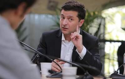 Зеленський закликав Раду повернути покарання в'язницею за брехню у деклараціях