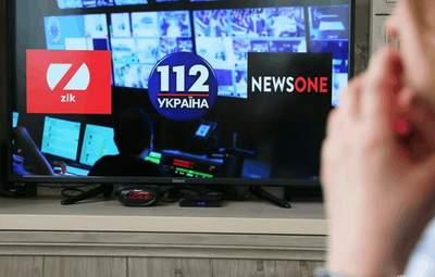 Эксперты считают блокировку медведчуковских телеканалов наиболее позитивным событием: опрос
