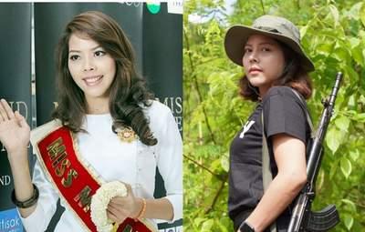 Время дать отпор, – королева красоты Мьянмы решила воевать против военной хунты