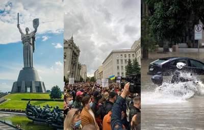 Головні новини 30 травня: День Києва, протест за Стерненка під ОП та зливи у Житомирі
