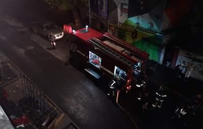 В новеньком ТРЦ Nikolsky в Харькове горела лоджия: эвакуировали 200 посетителей