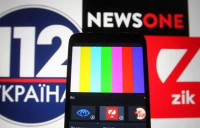 """Нацсовет оштрафовал NewsOne, """"НАШ"""" и """"112 Украина"""" на сотни тысяч гривен"""