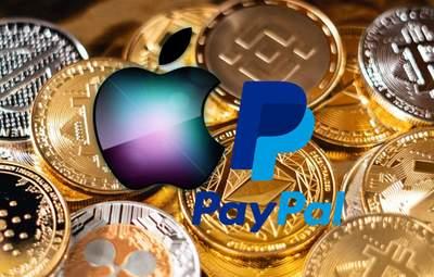 Apple и PayPal идут в мир криптовалют: банкиры указывают на риски
