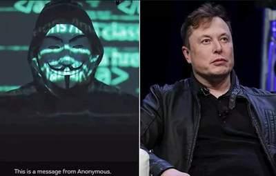 Хакери з Anonymous оголосили війну Ілону Маску: дивіться відео