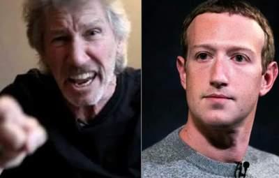 """Лідер Pink Floyd відкрито """"послав"""" Марка Цукерберга: причина та відео інциденту"""