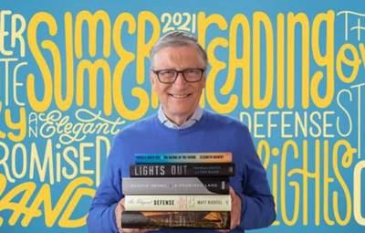 Книги, которые Билл Гейтс рекомендует прочесть летом 2021 года