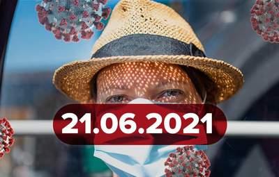 Новини про коронавірус 21 червня: критична ситуація в Петербурзі, чому зникає нюх