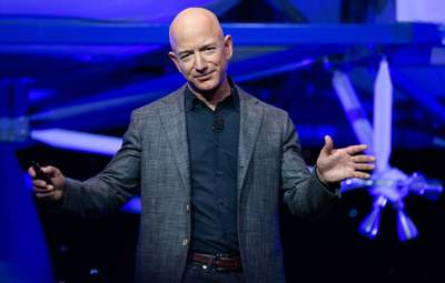 Основатель Amazon Джефф Безос снова самый богатый в мире