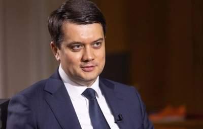 Проекты Разумкова: что может ждать на политическую карьеру спикера Верховной Рады