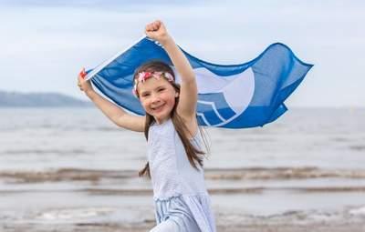 Пляжі України з блакитним прапором: список і карта