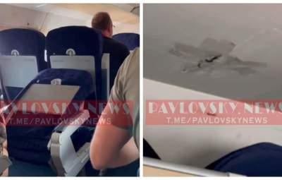 Зламані стільці й дірки в стелі: пасажир рейсу Одеса – Київ показав умови на борту