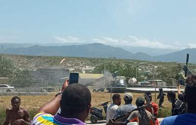 На границе с Гаити разбился военный вертолет Доминиканы