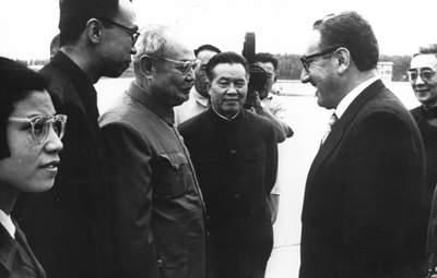 Як візит Кіссинджера до Китаю 50 років тому змінив світову політику