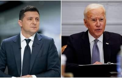 Зеленский рассказал, о чем попросит Байдена на встрече в США