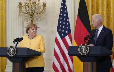 У Зеленського прокоментували результати зустрічі Меркель та Байдена