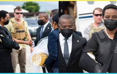 Жена убитого президента Гаити вернулась в страну после лечения: причина