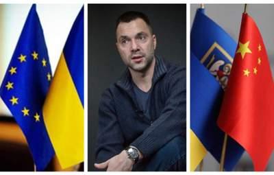 Якщо Захід буде дружити з Росією, Україна розвернеться на Схід, – Арестович