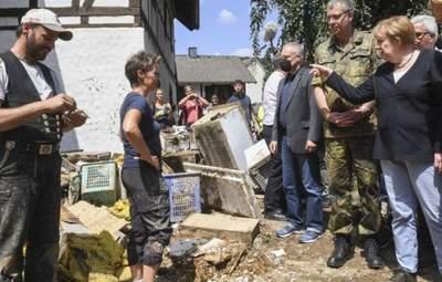 У німецькій мові навряд чи є слова, аби описати ці руйнування, – Меркель про повені