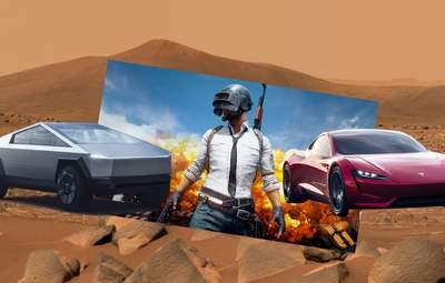 Автомобили Tesla появятся в игре PUBG Mobile: Илон Маск поделился сумасшедшим трейлером