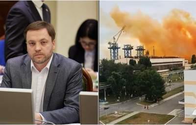 """Новий глава МВС Монастирський назвав попередні причини аварії на """"Рівнеазоті"""""""