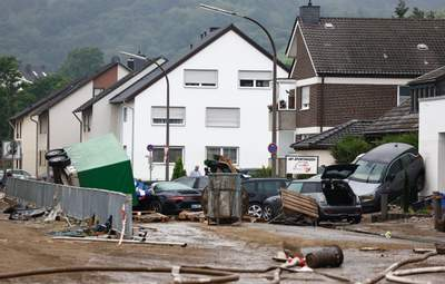 У Німеччині постраждалі від повені регіони готуються до нової серії руйнівних опадів