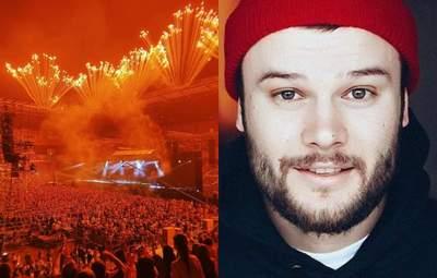 """Перед багатотисячним концертом Коржа: в Одесі люди скандували """"Жыве Беларусь"""" – відео"""