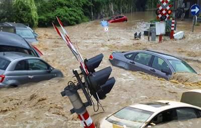 Вода зносить усе на своєму шляху: нові руйнівні повені охопили Бельгію – фото, відео