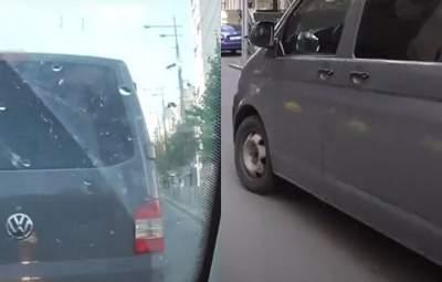 Устроили погоню с рупором: НАБУ попыталось перехватить авто СБУ с Чаусом – видео