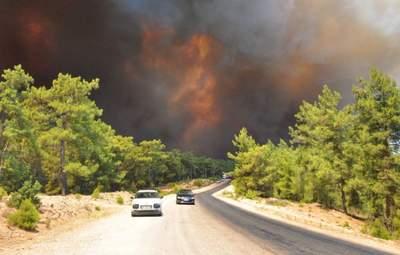 Рятувальники у Туреччині змогли взяти під контроль понад 100 лісових пожеж