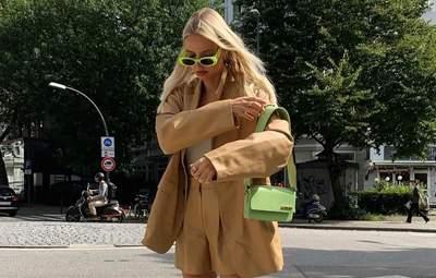 Тренды осени 2021: Леони Ханна показывает с чем носить высокие сапоги на каблуке