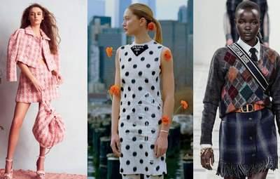 Клетка, горошек и ромбы: самые модные принты осени 2021