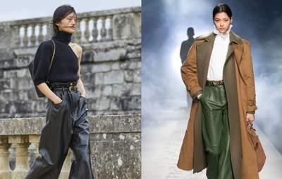 Мода на шкіряні штани продовжується: найкращі моделі осіннього сезону