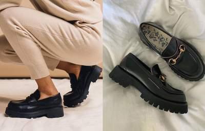 Лофери – трендове взуття осені: модні образи від інфлюенсерів