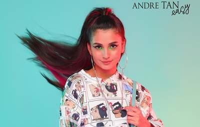Анна Трінчер стала обличчям колекції Андре Тана для тінейджерів: фото стильних образів